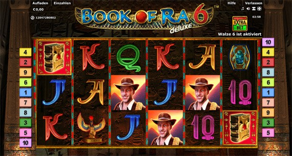 online casino mit book of ra lady charm